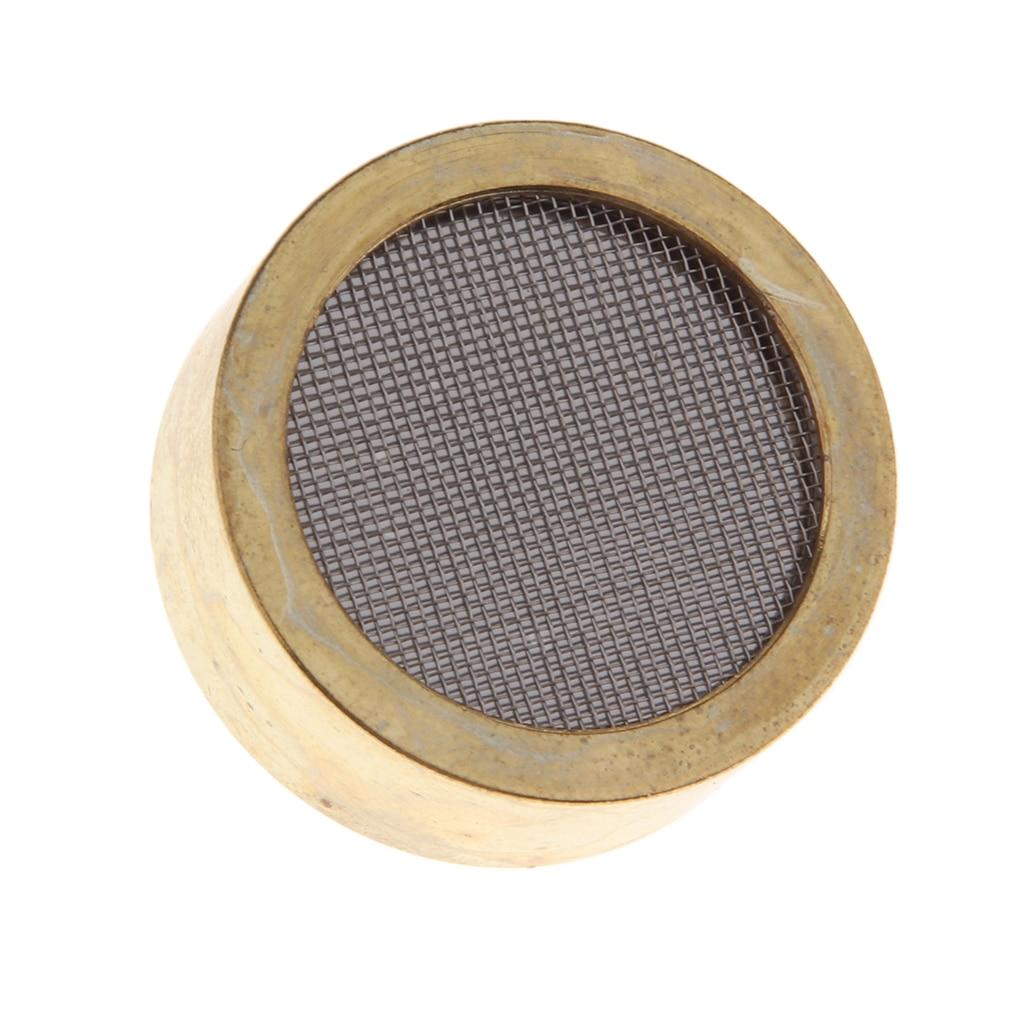 Aluminum Alloy Condenser Microphone Cartridge Capsule Replacements Large Diaphragm Microph Electric Instrument Parts Golden 1