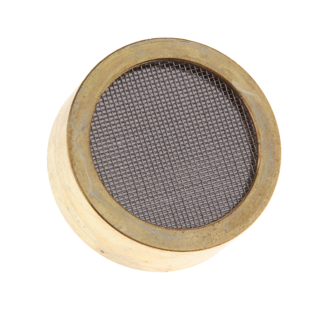 Aluminum Alloy Condenser Microphone Cartridge Capsule Replacements Large Diaphragm Microph Electric Instrument Parts Golden