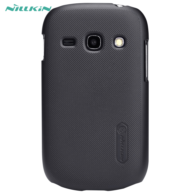 Cas pour Samsung S6810 Nillkin Super Givré Bouclier dur retour housse pour Samsung galaxy renommée avec Cadeau Protecteur D'écran