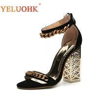 Extreme High Heel Sandals Women 2018 Summer Gladiator Sandals Women High Quality Women Sandals 12 CM