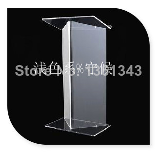 Hot Selling Cheap Acrylic Lectern, Acrylic Church Podiums