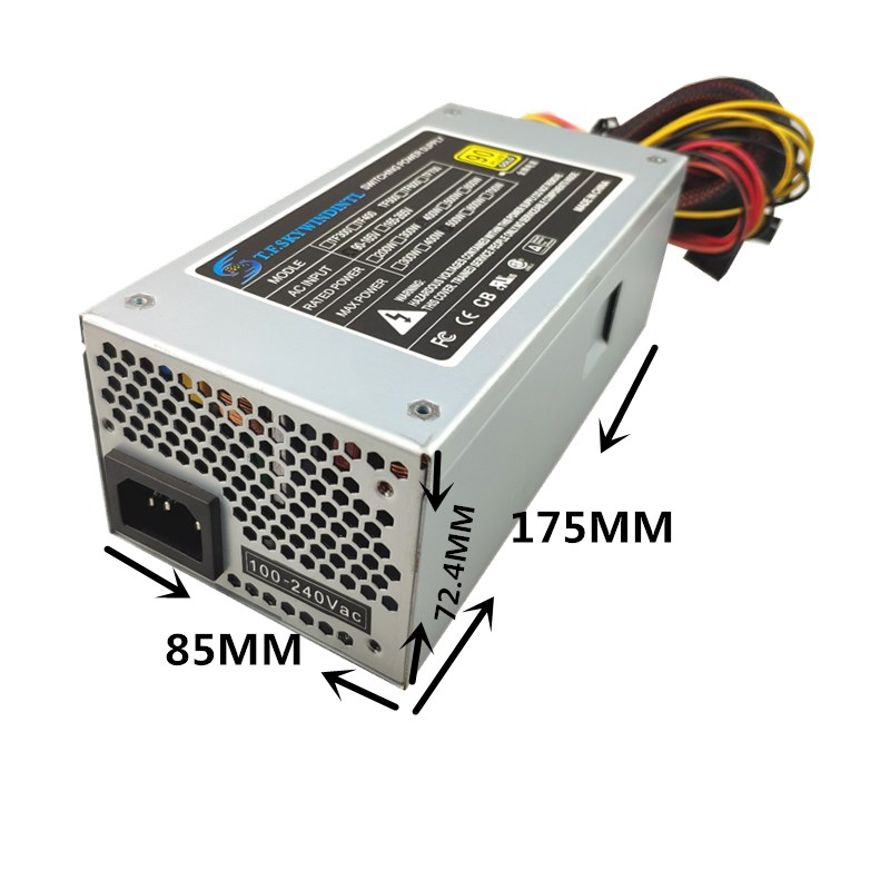 Купить с кэшбэком 400W Desktop computer Power Supply 400W TFX Power MAX 500W Power Supply PC TFX SFF Upgrade 500W 110V 220V TFX12V 2.31