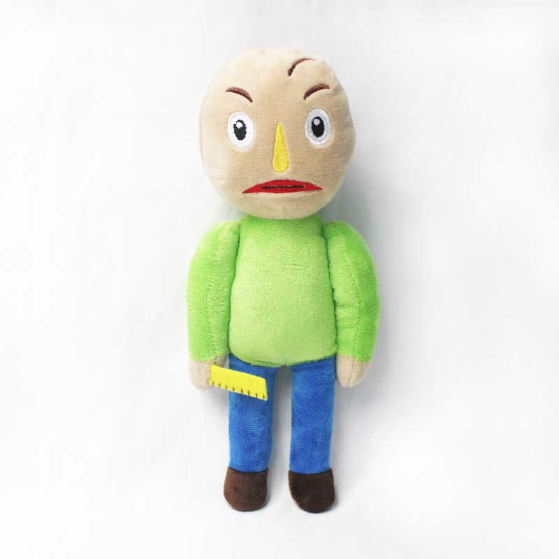 25cm Baldi's Basics eğitim ve öğrenme peluş figürü oyuncak Baldi doldurulmuş bebek çocuk çocuk hediye