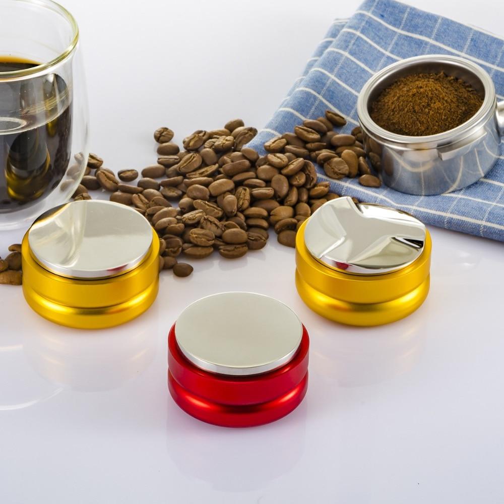 Kitchen Appliance Parts 3blades 58mm Coffee Disturibution Tool Filling Quantitative Powder Macaron Blower Coffee Powder Tamper Crush Adjustable