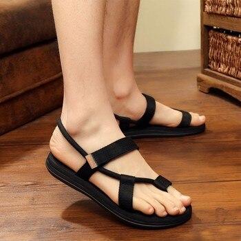 Men Sandals Summer Beach Shoes Roma Leisure Breathable Gladiator Sandals Male Shoes Adult Flip Flops Shoes Zapatos Hombre 1