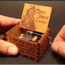Movie Pirates of the Caribbean Hand-operated Music Box Davy