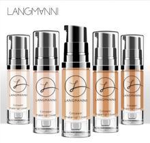 SACE LADY тональный крем для лица основа для макияжа Professional Matte Finish Make Up Liquid корректор водостойкий бренд натуральная косметика