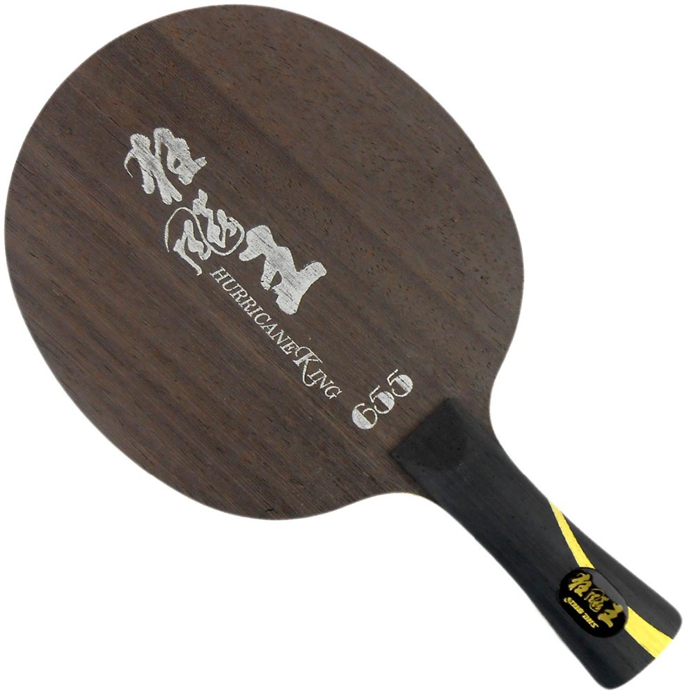 DHS Hurricane King 655 Shakehand FL Настольный теннис PingPong Blade Loop plus Quick attack