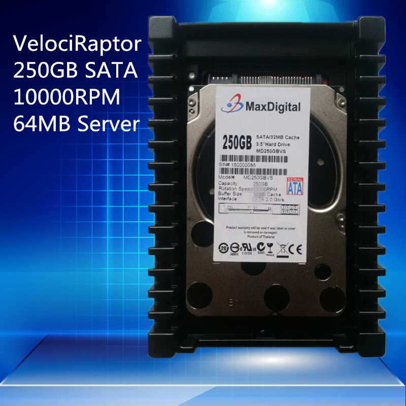 VelociRaptor 250GB 3.5inch SATA 64MB 10000RMP Server HDD Warranty for 1yera