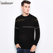 2019 New Autumn Winter Fashion Brand Clothing Men s Sweaters O Neck Slim Fit Men Pullover
