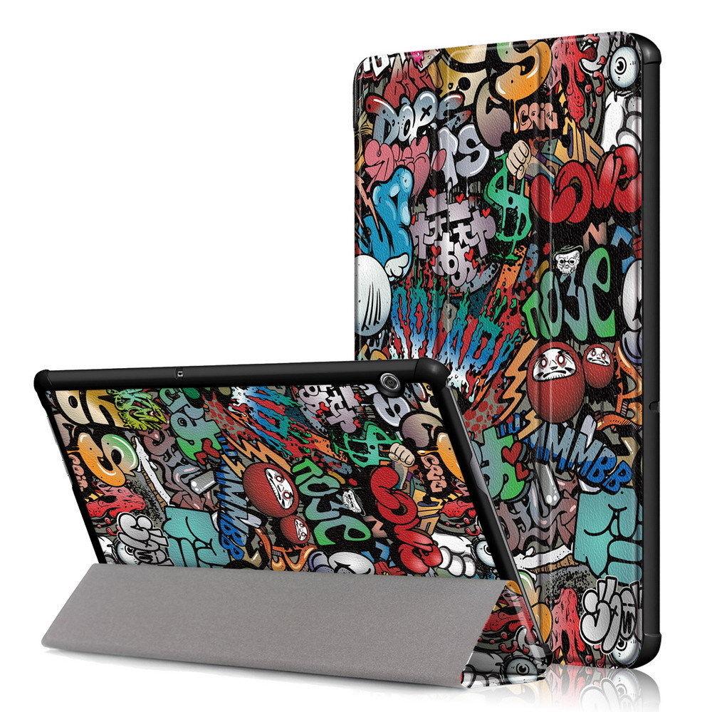Folding Folio Flip Case For Huawei Mediapad T5 10 Case AGS2-W09 AGS2-L09 AGS2-L03 AGS2-W19 10.1