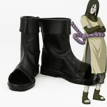 Naruto Orochimaru Cosplay Boots Ankle Shoes