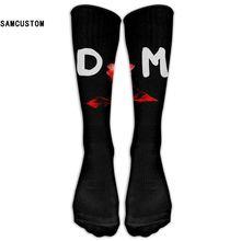 Здесь можно купить  SAMCUSTOM Depeche Mode 3D Printing Long Stocking Fashion Knee Socks Women Cotton Thigh High Over The Knee Stockings