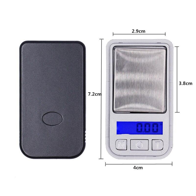 20 db legkisebb skála 200G 0,01G Mini Digital háttérvilágítás - Mérőműszerek - Fénykép 2