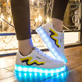 Unisex Shoes with Led Lights Fashion Led Shoes Leisure Simulation Chaussure Femme Usb Con Luz Cauasl Light Casual Shoes