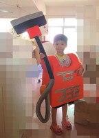 Yüksek kalite süpürge maskot kostüm çocuklar için elektrikli süpürge maskot