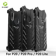 Luxe Cool Design Batman Case voor Huawei P20 Pro Premium Aluminium Metal Bumper Frame Shockproof Cover Shell Voor Huawei P20 lite