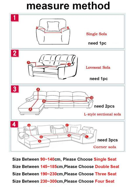 As For Sectional Sofa You May Need 2 4pcs Cover