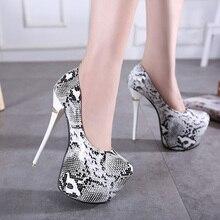 HOT High Heels Shoes 2017 Sexy Pumps Women Party Shoes Platform Pumps  Women's Wedding Shoes SIZE 34-40