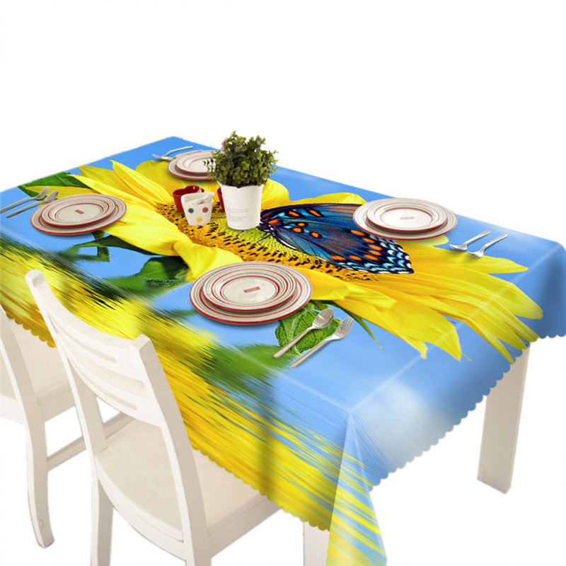 a10 dining butterfly print multi functional table cloth for party picnic table clothchina