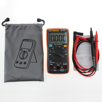 1 PCS New ANENG AN8001 Orange Digital Multimeter 6000 Counts Backlight AC DC Ammeter Voltmeter Ohm
