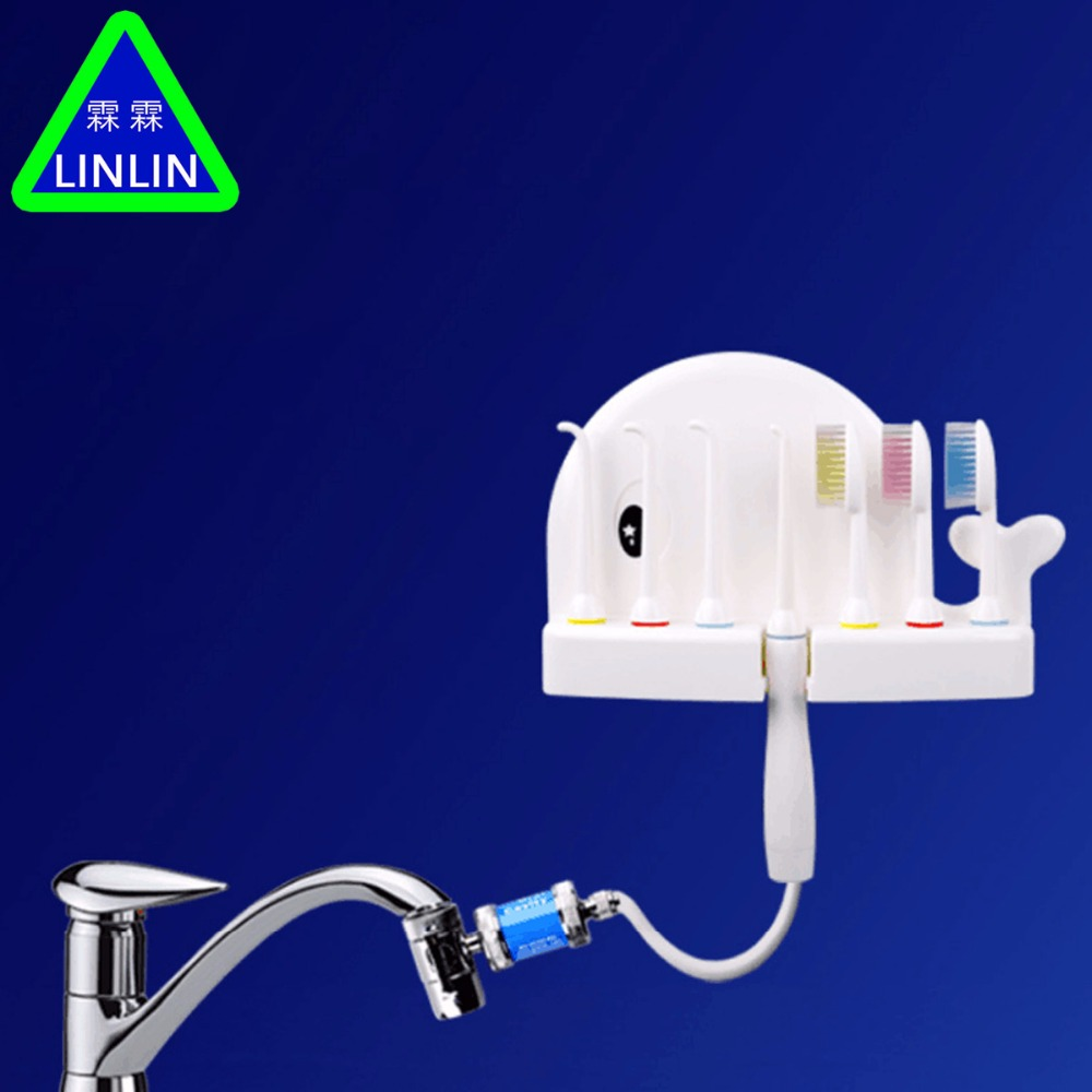 LINLIN Oral Irrigator Dental Floss Implement Water Floss Irrigation Water Jet For Teeth Cleaning Portable Travel Dental Water plant irrigation system water dispenser syringe irrigation kit 25 meters