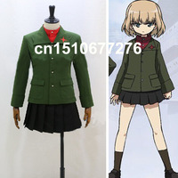 Anime Girls and Panzer katyusha School Uniforms Cosplay Costume Custom made