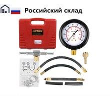 TU-113 Fuel Injection Pump Injector Tester Pressure Gauge Test Gasoline 0-100psi free shipping