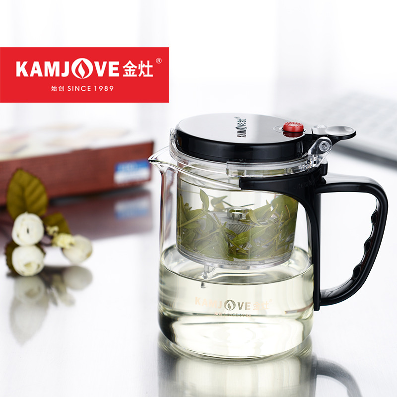[GRANDNESS] Kamjove Tp-735 Kamjove Art Tea Cup * Mug & Teapot 350ml 11.8oz Glass Teapots Kamjove tea pot glass