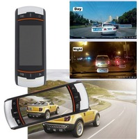 Small Size F90 2.7inch LCD Screen Tachograph Image Compression Technique Motion Detection Dashboard Car Vehicle Rear Camera