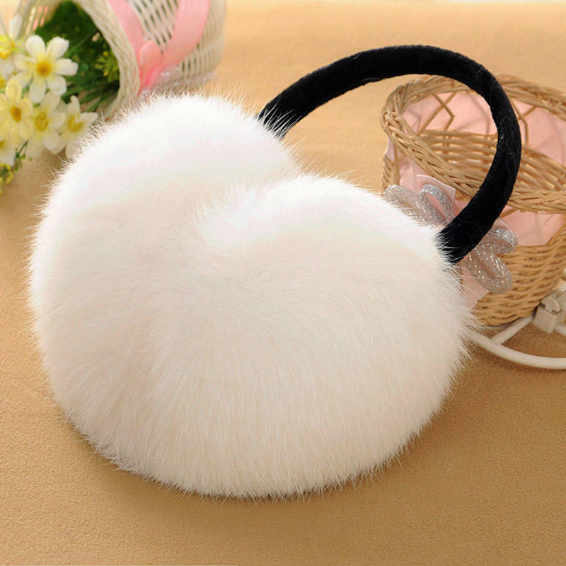 Fashion New Rabbit Earmuffs Men Women Winter Warm Earmuffs Plush Earmuffs Outdoor Accessories Gifts