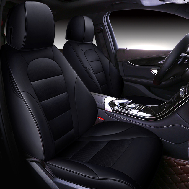 Special Custom Car Seat Cover Leather Shape Suitable For Sports Suv