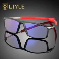 של 2017 גברים משקפיים משקפיים קרינה עמידה משקפי מחשב אנטי ריי הכחול 100% UV400 משקפיים ברורים Spectalcles מסגרת 588