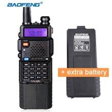 Baofeng UV-5R 3800mAh Walkie Talkie Dual Band Two Way Radio CB Ham Communicator HF Transceiver Portable Radio with Extra Battery