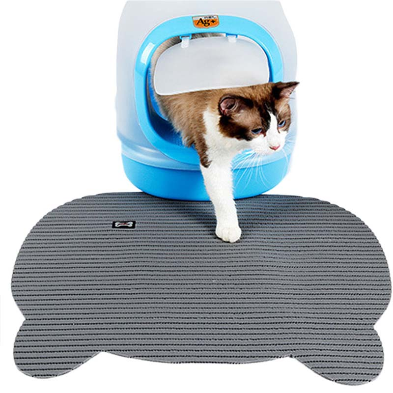 non slip cat litter mat cute puppy kitty dish feeding bowl placemat pet dog tray mat pets sleeping bed cat litter trapping mat