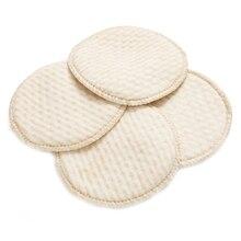 4 шт./пакет мама лактационный вкладыш моющиеся накладки для груди разлива предупреждение при грудном вскармливании