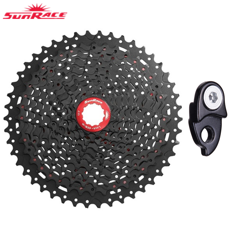 SunRace 10 Speed CSMX3 CSMS3 11 40T 11 42T Mountain Bicycle Freewheel 10S Wide Ratio MTB