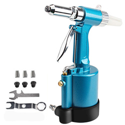 Pneumatic Blind Rivet Gun 2.4-5.0MM Heavy Duty Air Hydraulic Riveter-Professional Pop Pneumatic Riveting Gun Rivet Tool