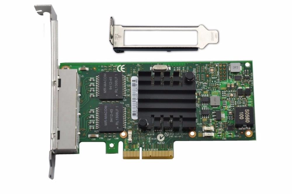 Intel ETHERNET SERVER ADAPTER I350-T4V2 BULK - I350T4V2BLK
