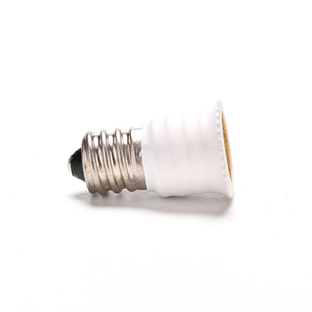 E12 к E14 держатель лампы адаптер гнездо конвертер свет базовый канделябр держатель лампы конвертер