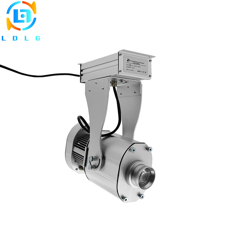 New Model OUTDOOR Waterproof Rotary 4500Lumens 40W LED Projector IP65 Building Lighting Big Images 40W LED Gobo Projector Lights