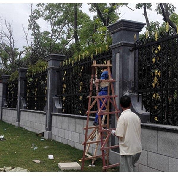 HENCH сад кованого железа забор 8'x5' забор и ворота поставки