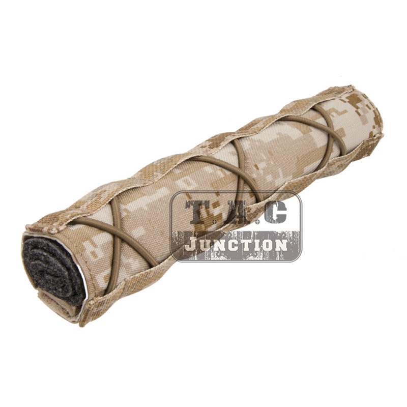 Tactical Silencer Cover Suppressor Mirage Cover Quick Release Hunting Accessory
