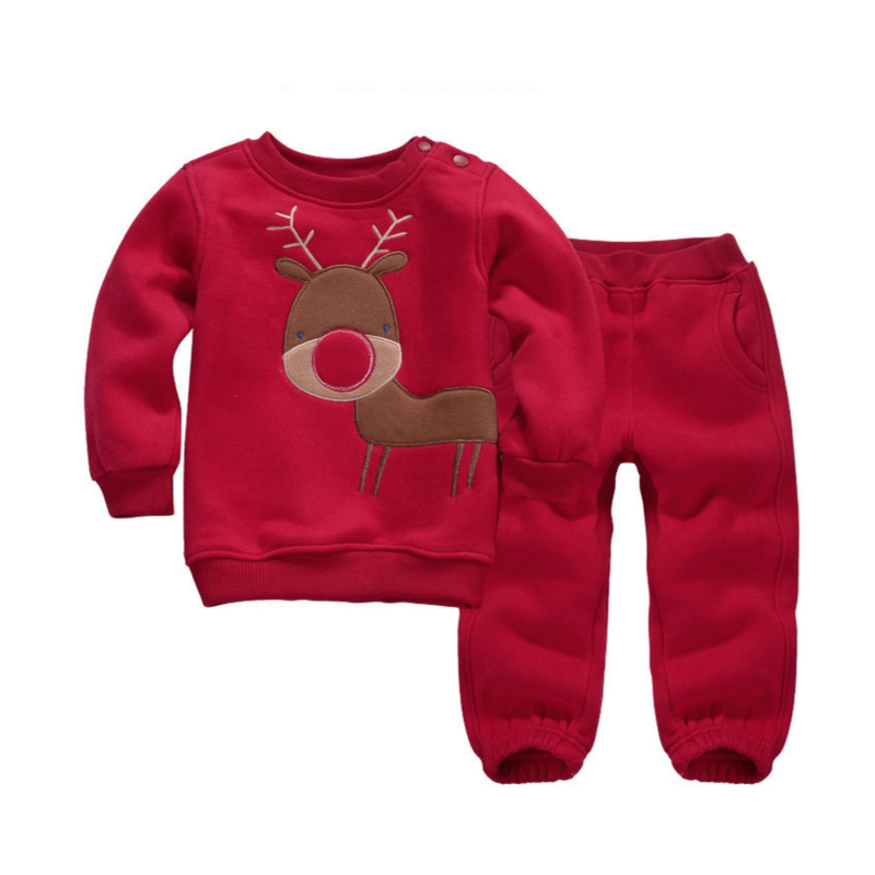 Mom's Care Children Set O-neck Sweatshirts Pullover T-Shirt + Pants Spring Autumn Winter Sportswear Boy Girl Children's Clothes new hot sale 2016 korean style boy autumn and spring baby boy short sleeve t shirt children fashion tees t shirt ages