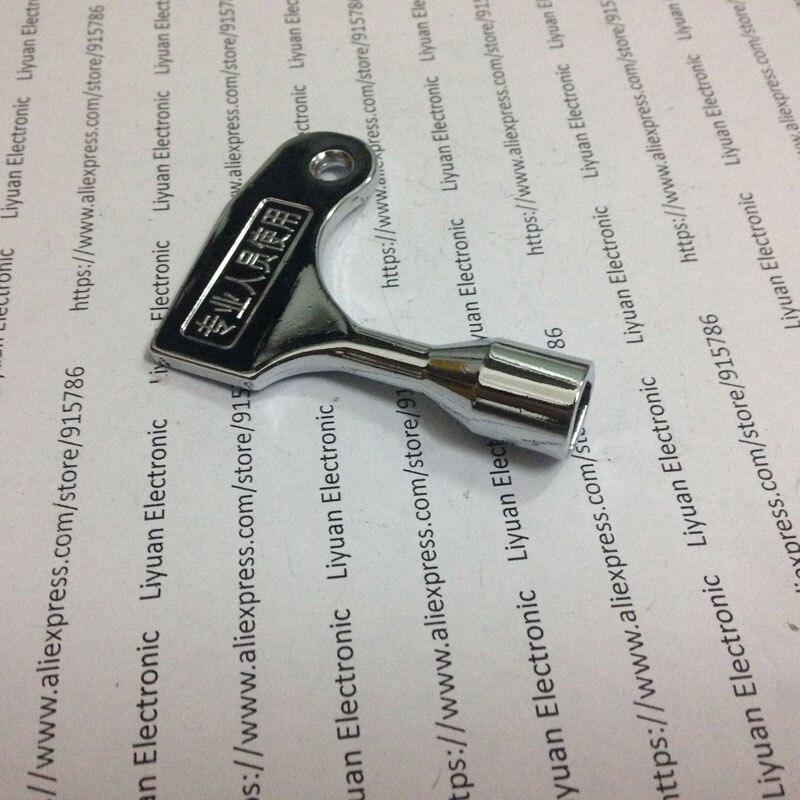 1 шт. ключи двери лифта/треугольный ключ/универсальный ключ поезда