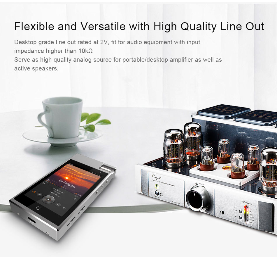 CAYIN N5iiS Android Based Master Digital Audio Lossless Music Player 9