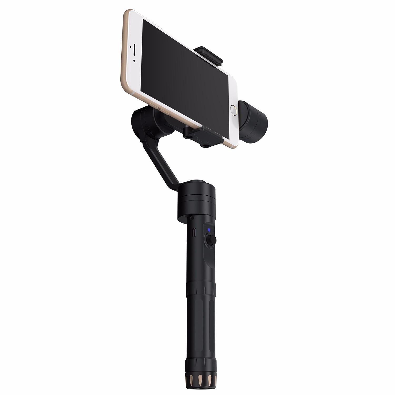 Zhiyun Z1 гладкой II 2 Многофункциональный 3 оси ручной устойчивый Gimbal поддерживает телефон Камера Беспроводной контроллер для iphone 8 Plus