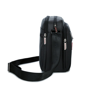 Image 2 - 높은 품질 남자 메신저 서류 가방 가방 작은 용량 서류 가방 좋은 방수 나일론 남성 비즈니스 어깨 가방 IPAD