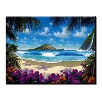 Maui Iii Ap By Christian Riese Lassen Wall Painting Print On Canvas For Home Decor Oil