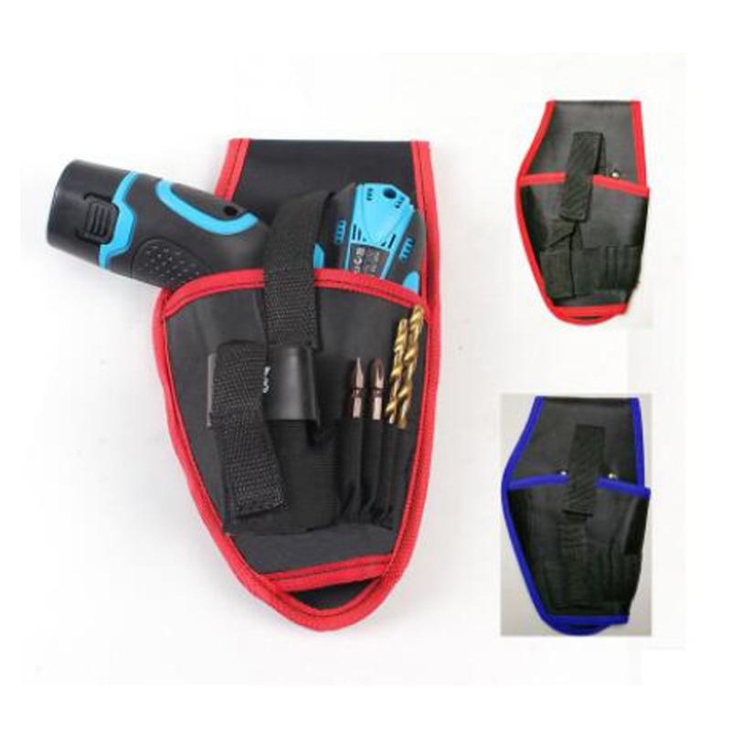 HILDA 12V / 18V electric drill hand drill tool pocket waist storage cordless belt pocket pocket auto repair tool bag